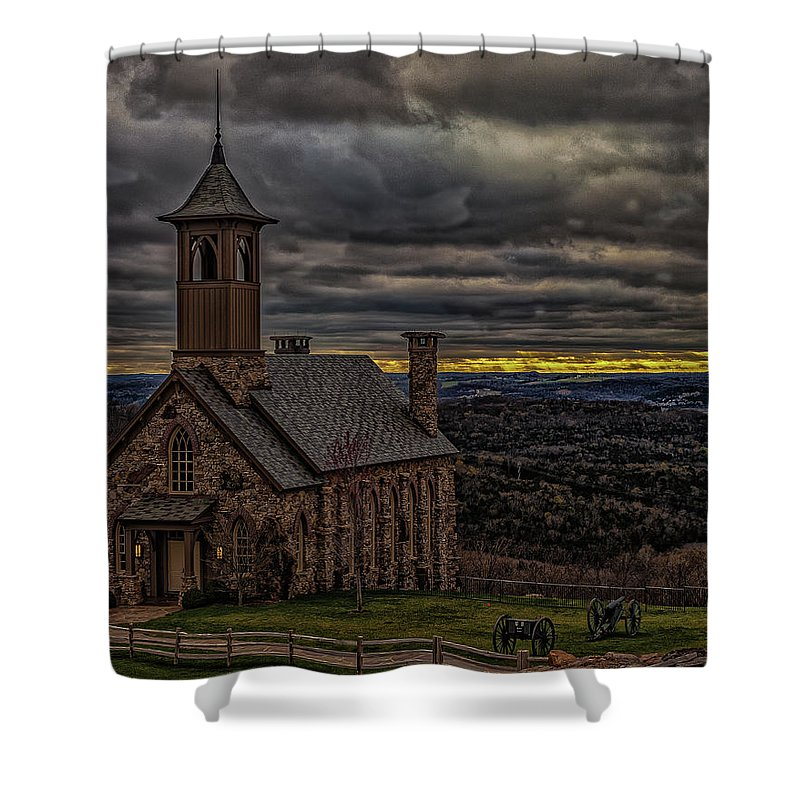 Missouri Shower Curtain featuring the photograph Church by Scott McKay