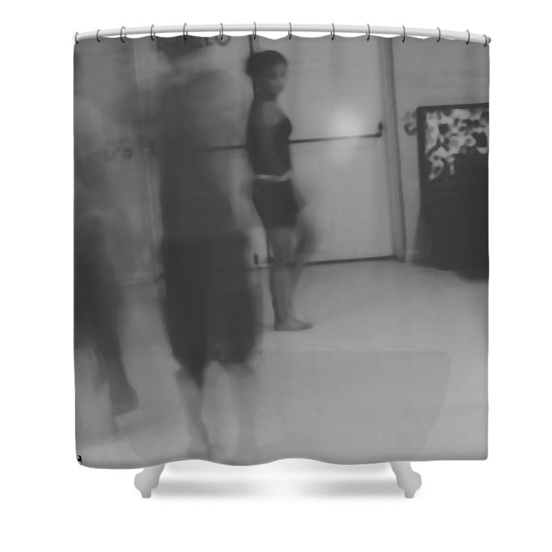 Shower Curtain featuring the photograph Circle Dance by Heather Kirk