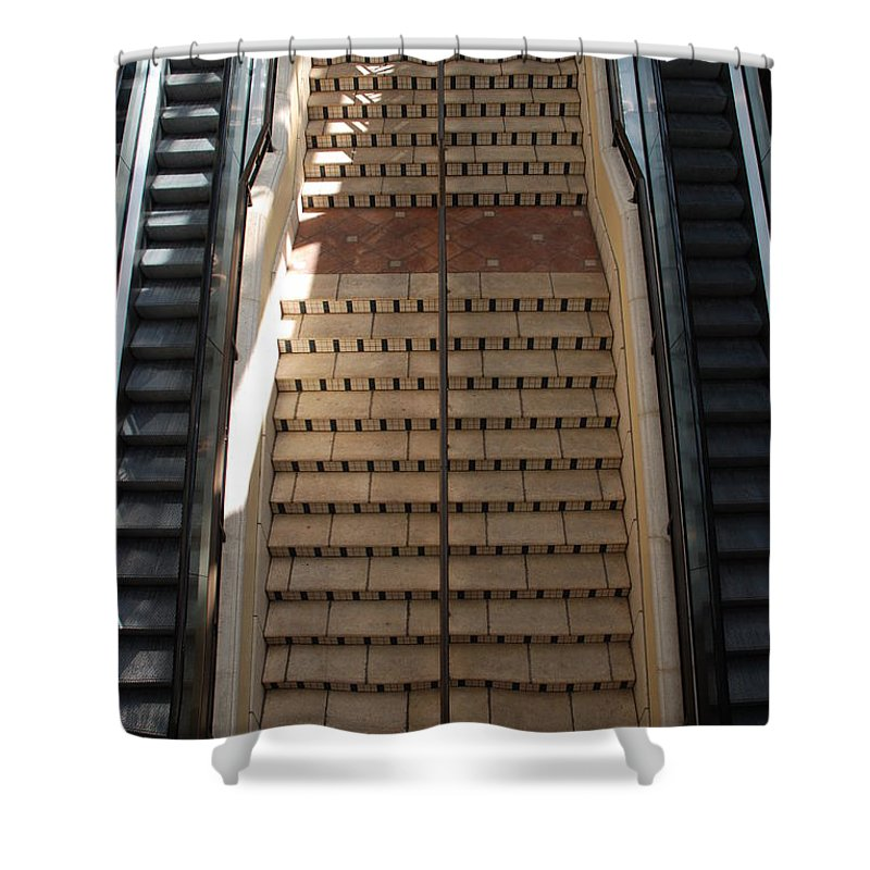 Stairs Shower Curtain featuring the photograph City Place Stairs by Rob Hans