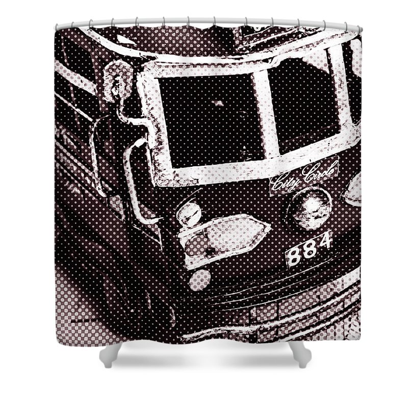 City Shower Curtain featuring the photograph City Wall Art Tours by Jorgo Photography - Wall Art Gallery