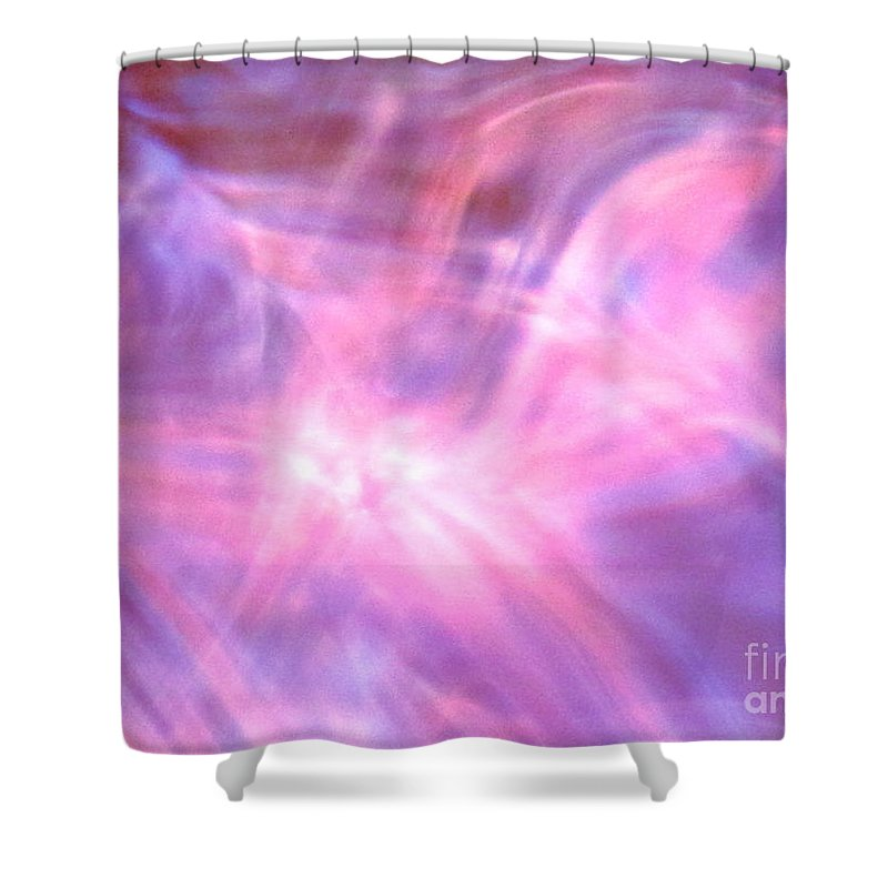 Abstract Shower Curtain featuring the photograph Clarification by Sybil Staples