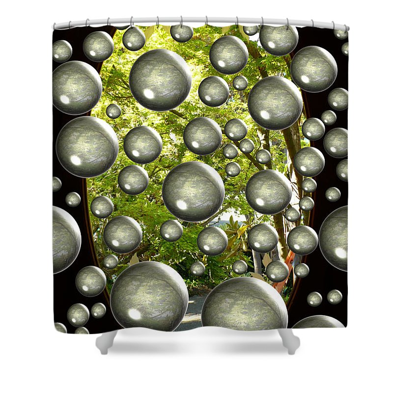 Digital Art Shower Curtain featuring the photograph Class Dismissed by Carol Groenen