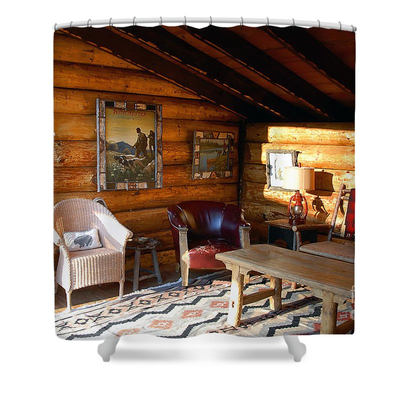 Adirondack Shower Curtain featuring the photograph Classic Adirondack by David Lee Thompson