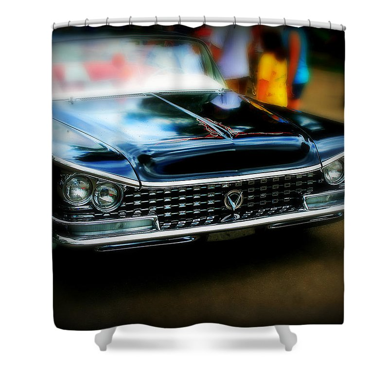 Car Shower Curtain featuring the photograph Classic Car by Perry Webster