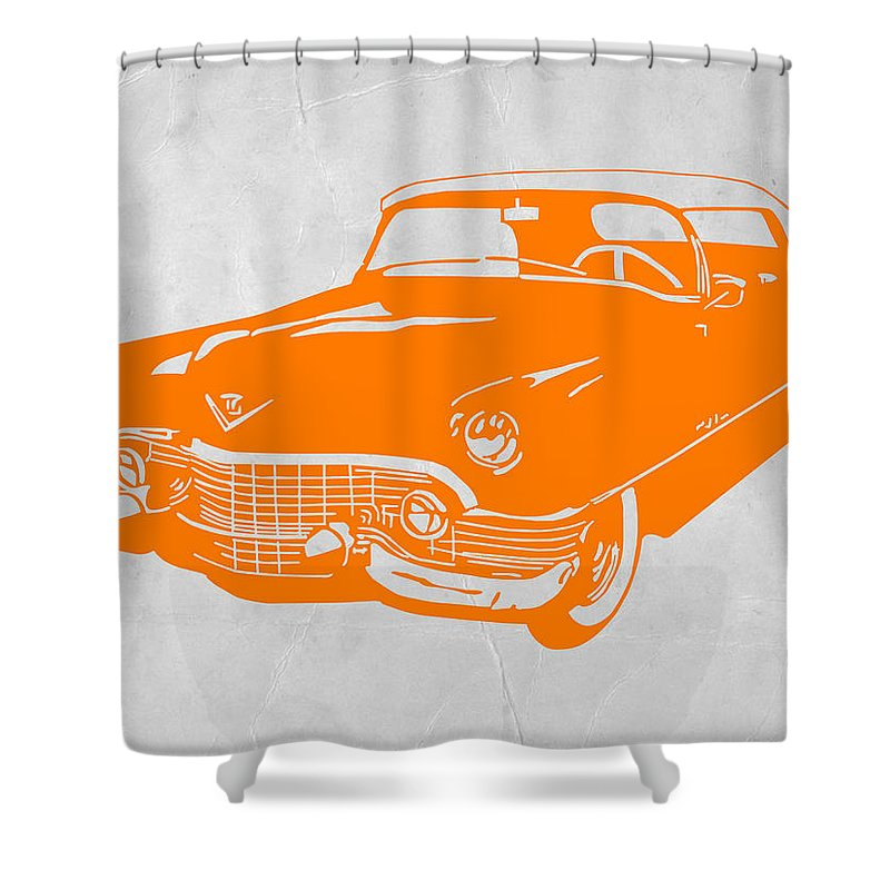 Chevy Shower Curtain Featuring The Digital Art Classic By Naxart Studio