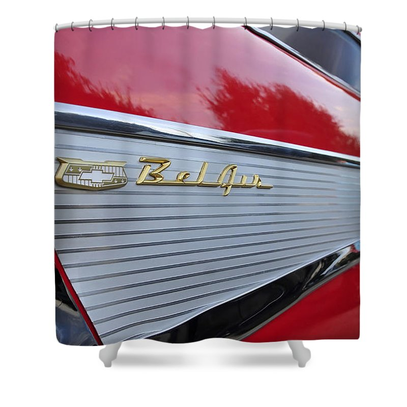 Fins Shower Curtain featuring the photograph Classic Fins by David Lee Thompson