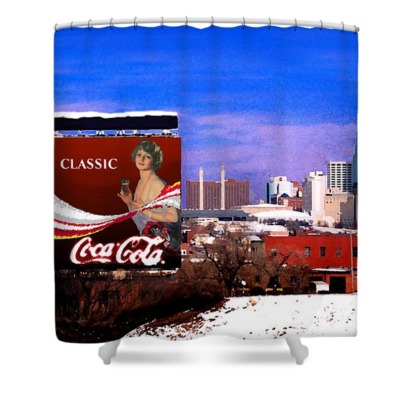 Landscape Shower Curtain featuring the photograph Classic by Steve Karol