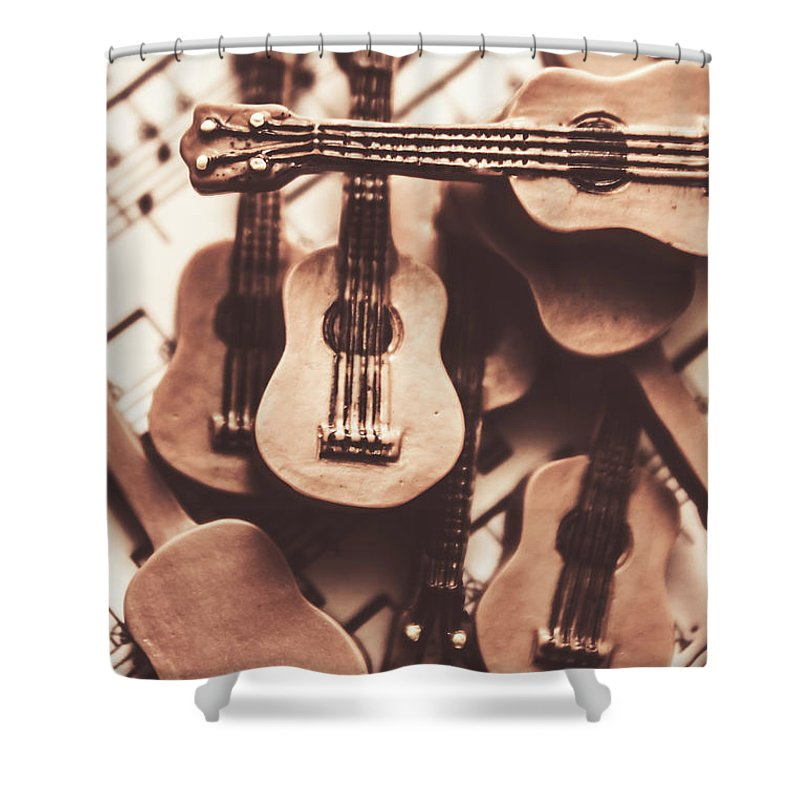 Rehearse Shower Curtain featuring the photograph Classical Music Recording by Jorgo Photography - Wall Art Gallery