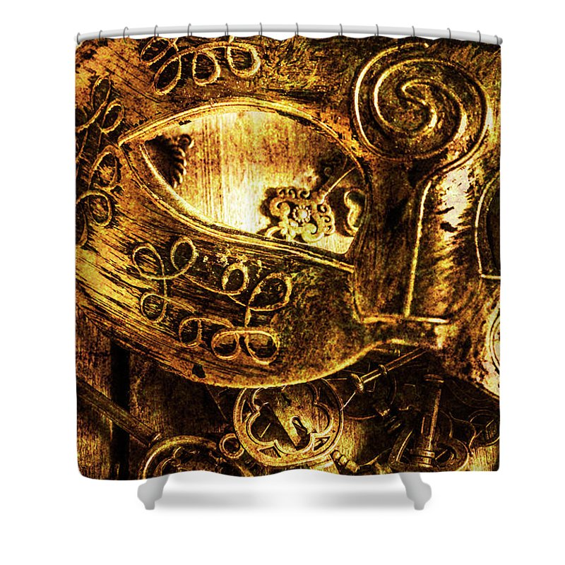 King Shower Curtain featuring the photograph Cloaking A Kingdom In Demise by Jorgo Photography - Wall Art Gallery