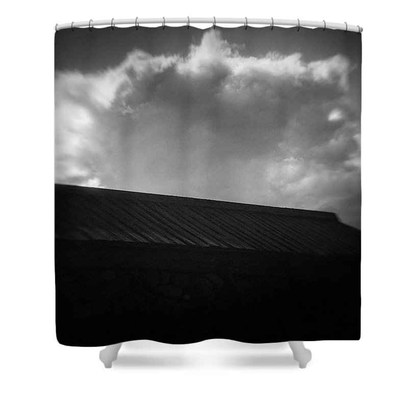 Art Shower Curtain featuring the photograph Cloud #9382 by Andrey Godyaykin