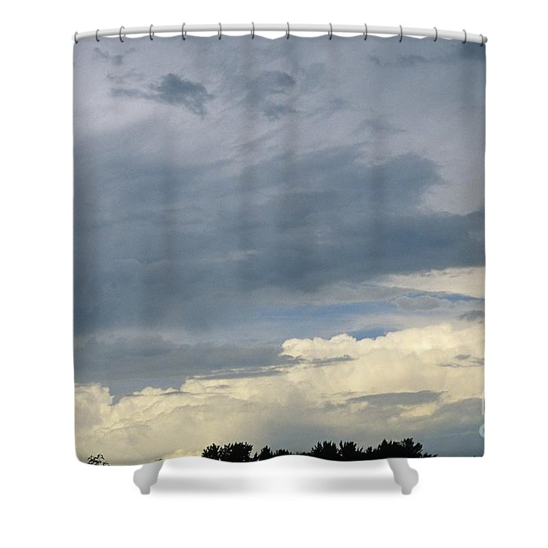 Storm Clouds Shower Curtain featuring the photograph Cloud Cover by Erin Paul Donovan