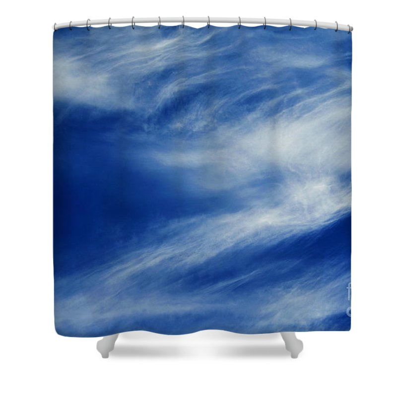 Clay Shower Curtain featuring the photograph Cloud Formations by Clayton Bruster