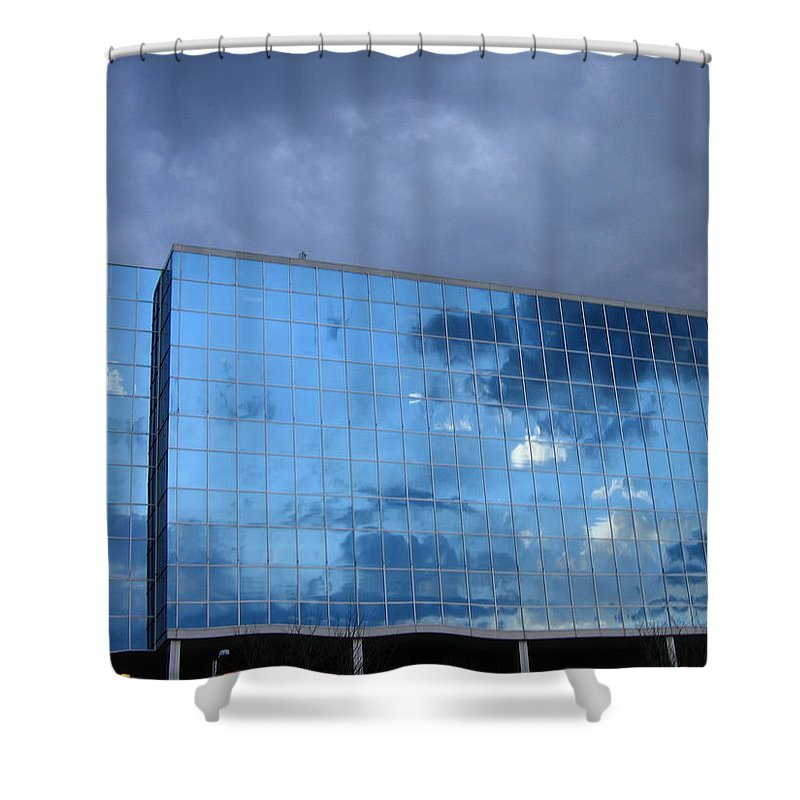 Clouds Shower Curtain featuring the photograph Cloud Reflection by Denise Keegan Frawley