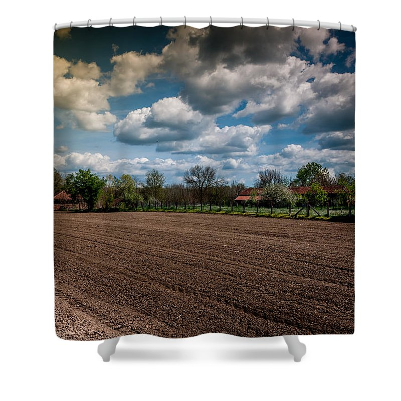 Clouds Shower Curtain featuring the photograph Clouds by Dragan Tomic