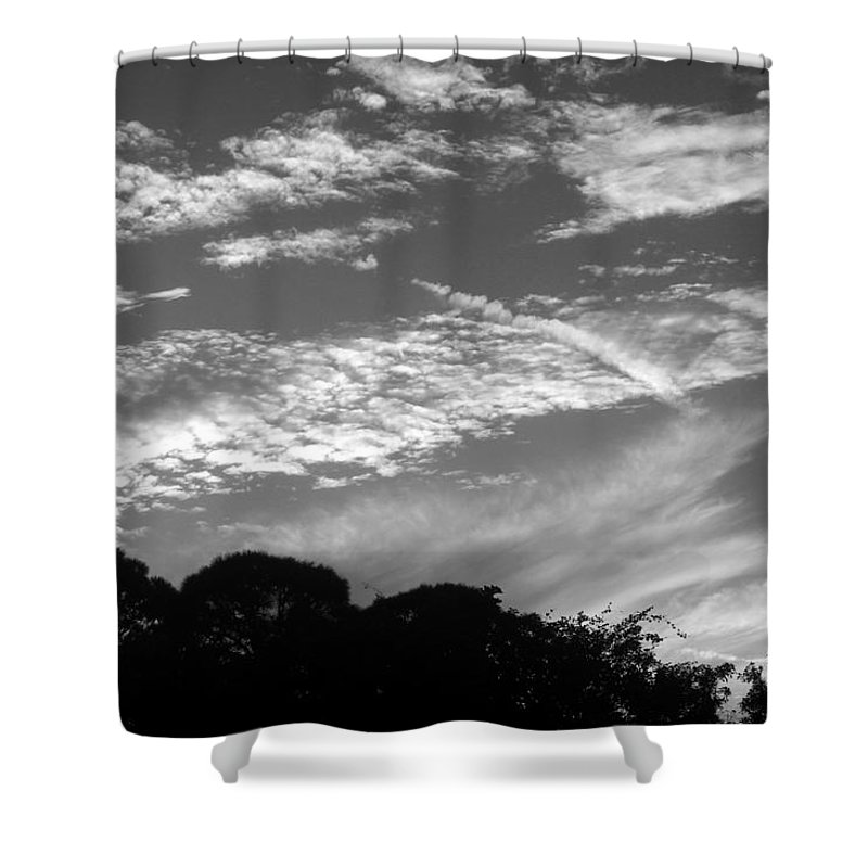 Photo For Sale Shower Curtain featuring the photograph Clouds Over Florida by Robert Wilder Jr