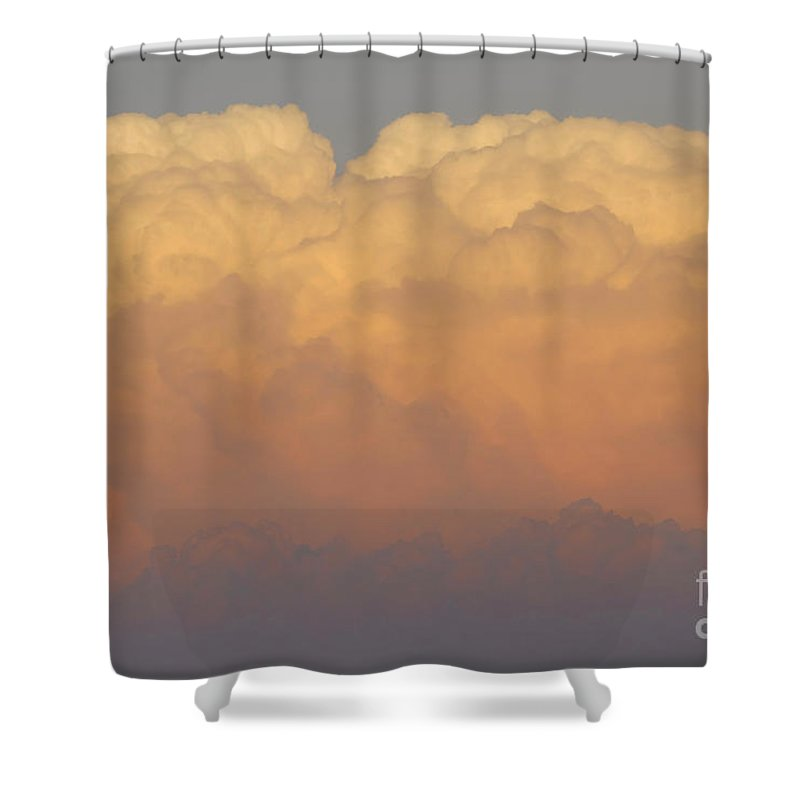 Clouds Shower Curtain featuring the photograph Cloudscape Work Number Six by David Lee Thompson