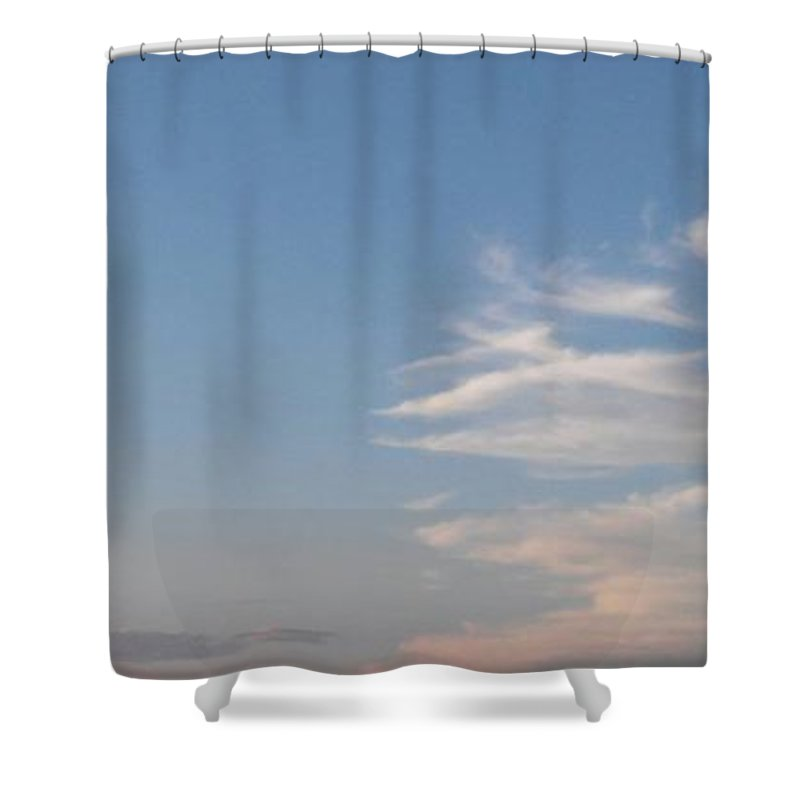 Clouds Shower Curtain featuring the photograph Cloulds by John Hiatt