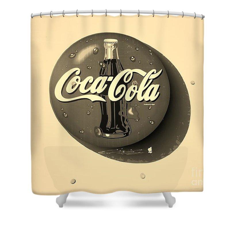 Coca Cola Bathroom Decor: Coca Cola Iconic Button Logo