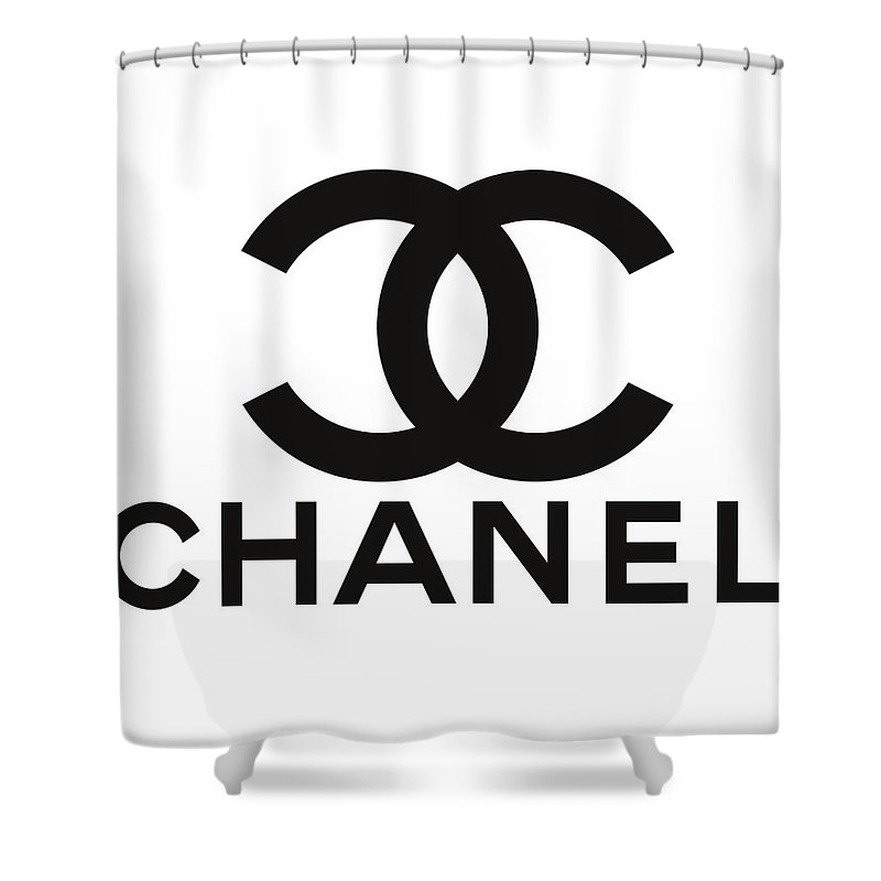 Coco Chanel Cc Shower Curtain For Sale By Thomas Pollart