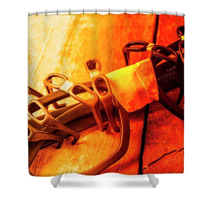 Dork Shower Curtain featuring the photograph Code Red Nerd Alert by Jorgo Photography - Wall Art Gallery