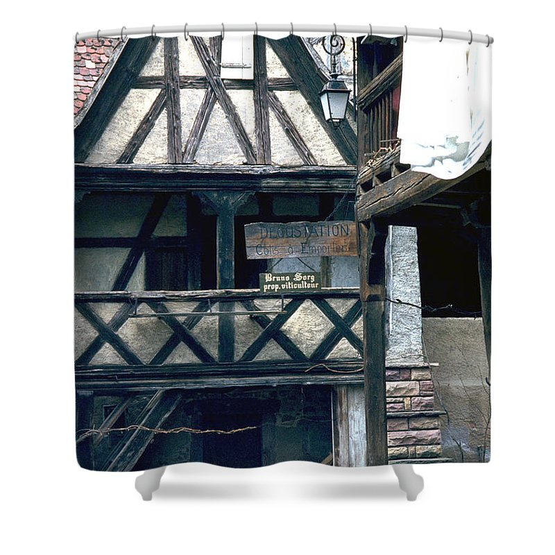 Colmar Shower Curtain featuring the photograph Colmar by Flavia Westerwelle