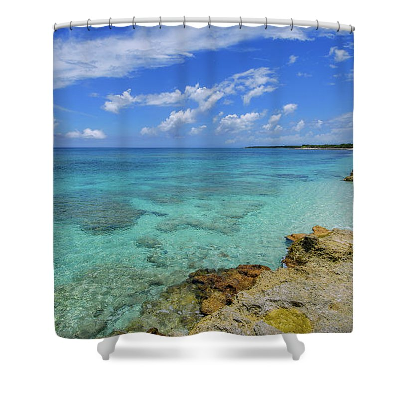 Chad Dutson Shower Curtain featuring the photograph Color And Texture by Chad Dutson
