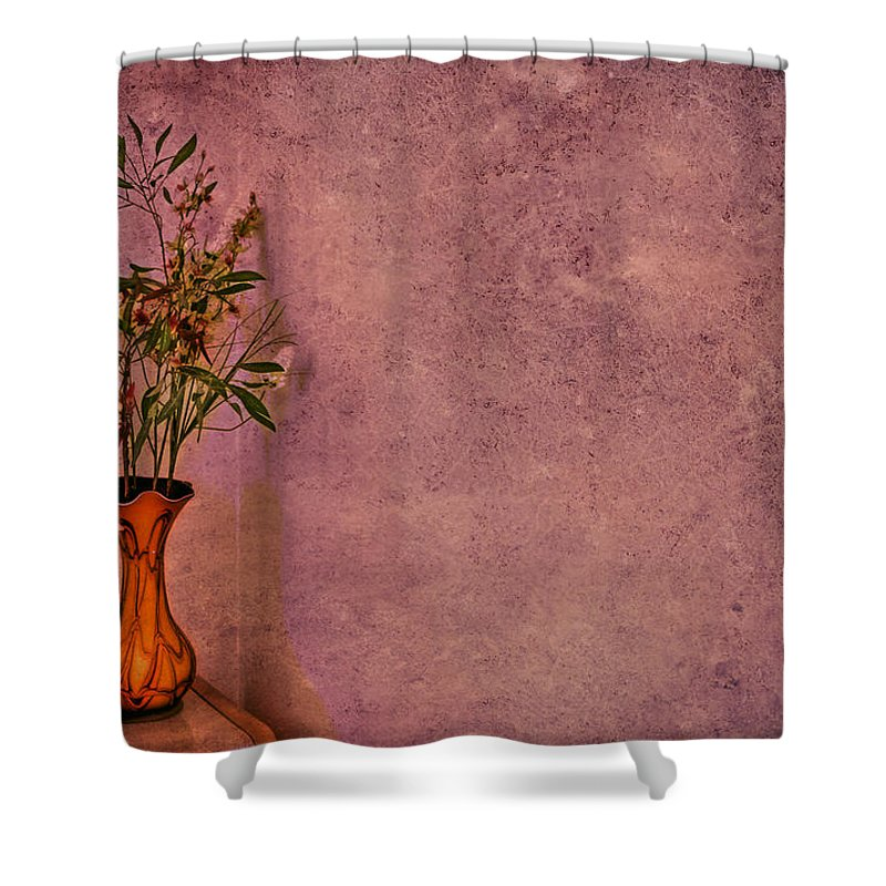 Flower Shower Curtain featuring the photograph Color My Senses by Evelina Kremsdorf