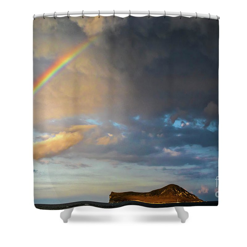Color Of The Rain Shower Curtain featuring the photograph Color Of The Rain by Mitch Shindelbower