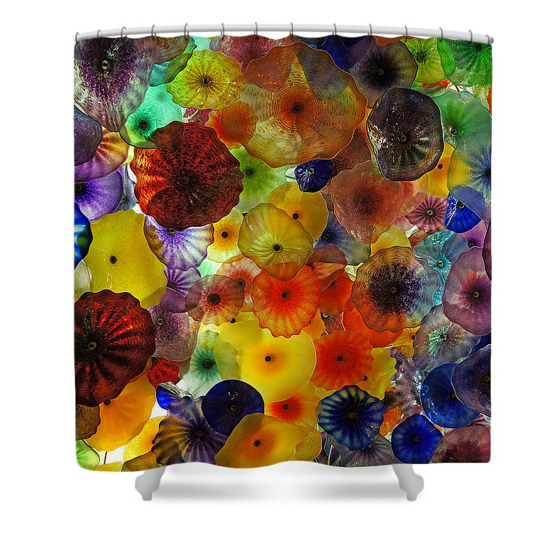 Ann Keisling Shower Curtain featuring the photograph Color Pop by Ann Keisling