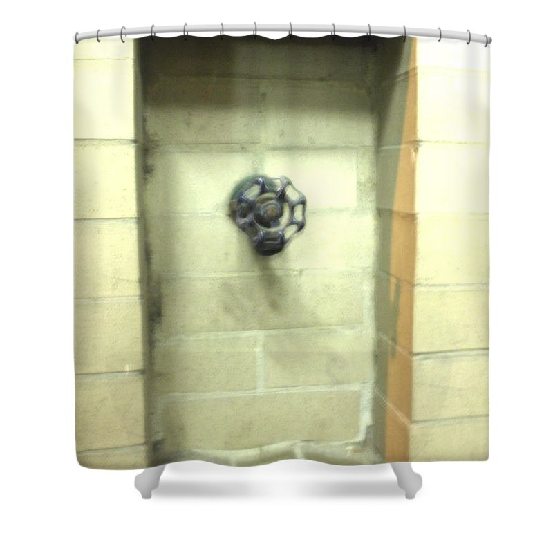 Color Photograph Shower Curtain featuring the photograph Color Spicket by Thomas Valentine