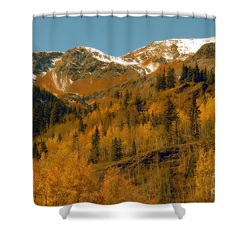 Colorado Shower Curtain featuring the photograph Colorado by David Lee Thompson