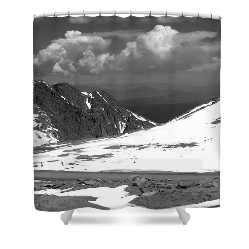 Colorado Shower Curtain featuring the photograph Colorado Mountians 1 by Anita Burgermeister