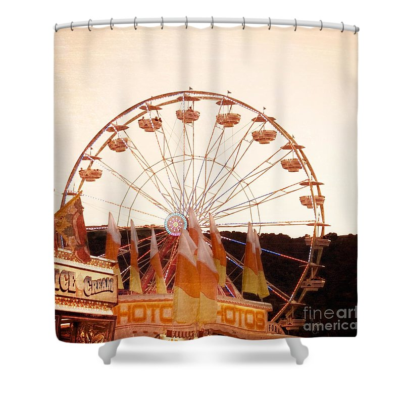 August Shower Curtain featuring the photograph Colors Of August by Cindy Garber Iverson