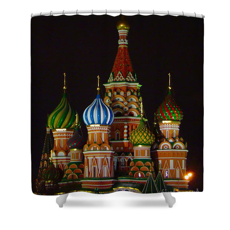 Domes Shower Curtain featuring the photograph Colors by Rick Monyahan