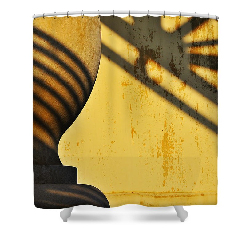Architecture Shower Curtain featuring the photograph Comb Over by Skip Hunt