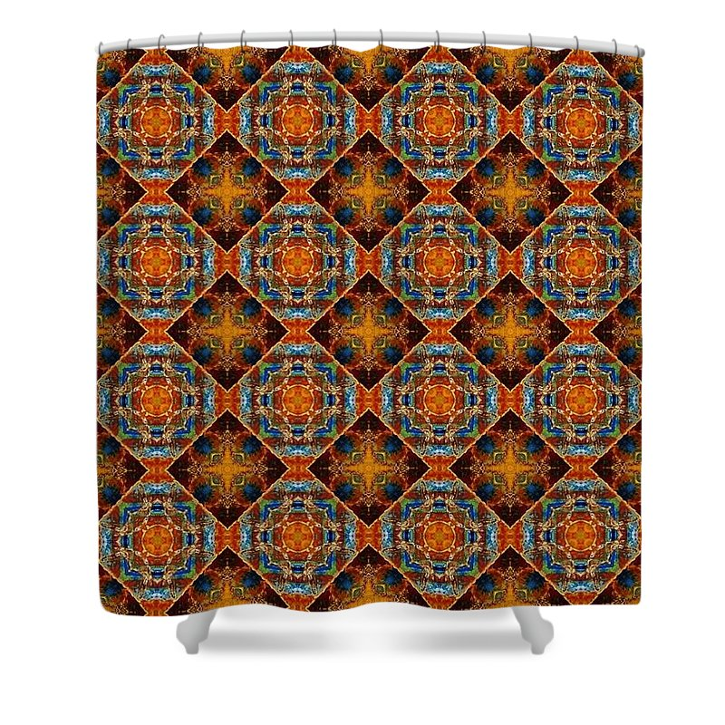 Hawaii Shower Curtain featuring the digital art Come To The Edge by Ethel Mann