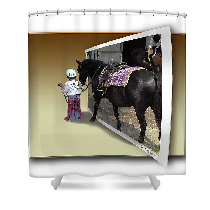 2d Shower Curtain featuring the photograph Come With Me by Brian Wallace