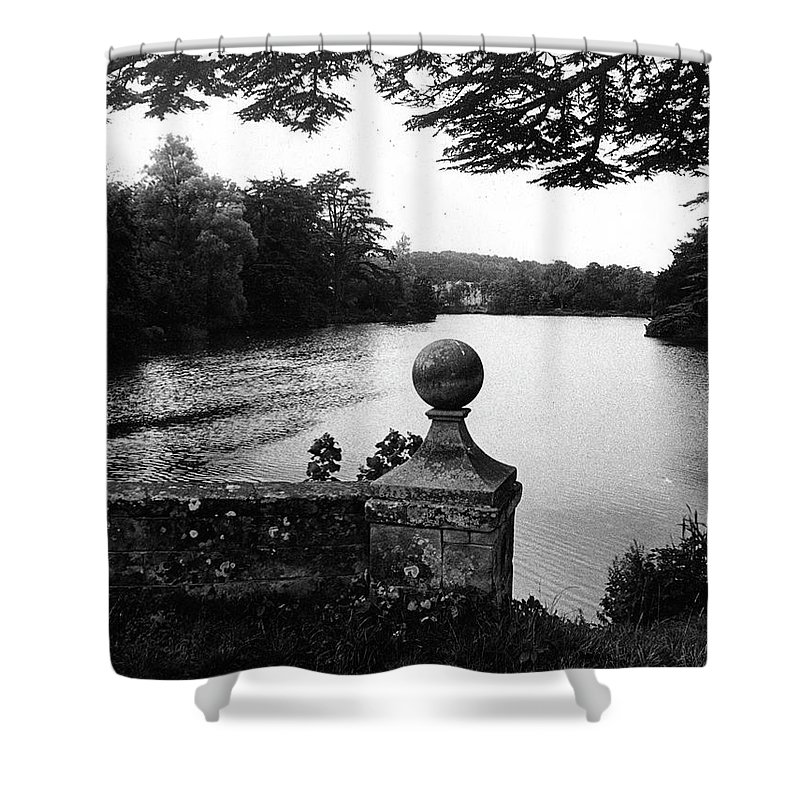 Countryside Shower Curtain featuring the photograph Compton Verney Warwickshire England by David Rives