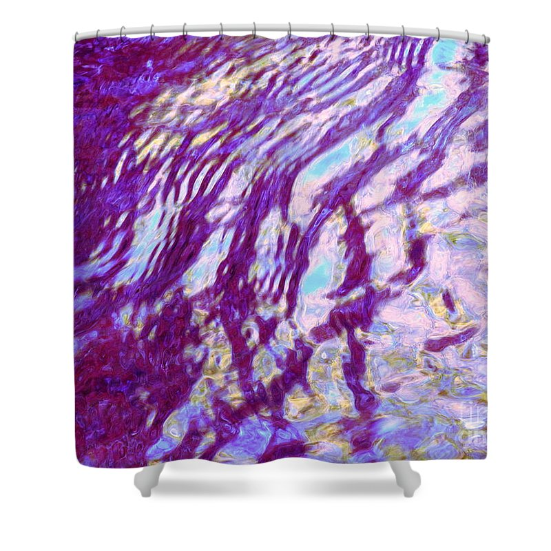 Water Art Shower Curtain featuring the photograph Concurrence by Sybil Staples