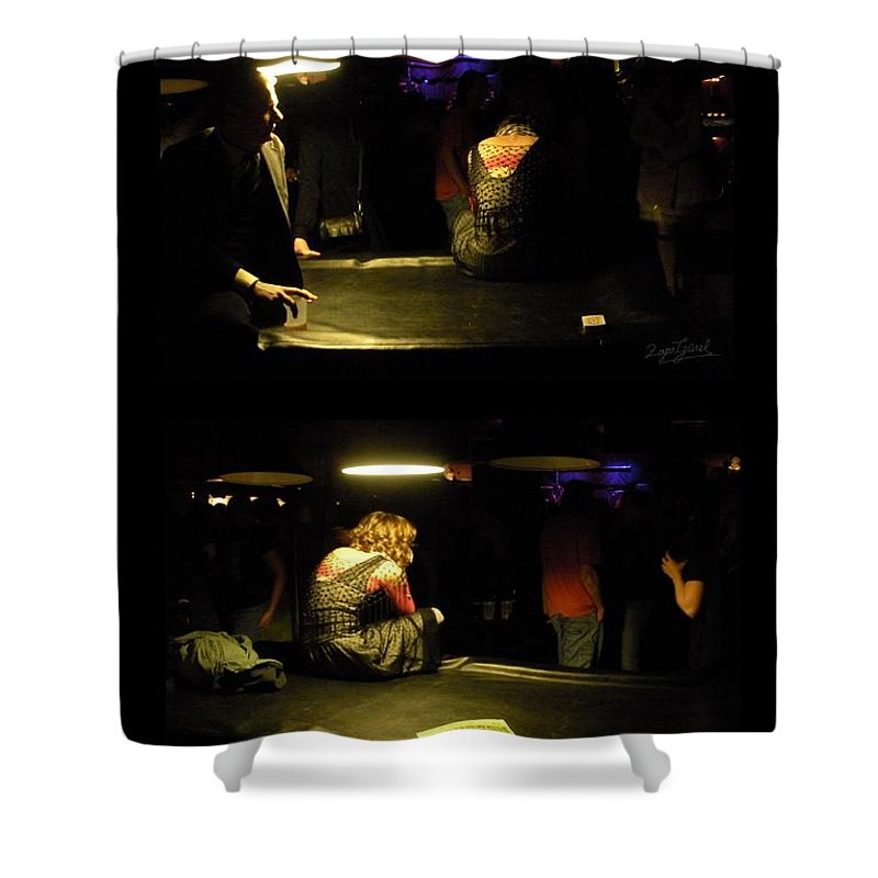Love Shower Curtain featuring the photograph Conflicted Emotions by Zafer Gurel