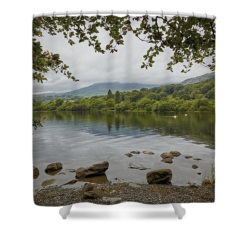 Coniston Shower Curtain featuring the photograph Coniston Water by Ralph Muir