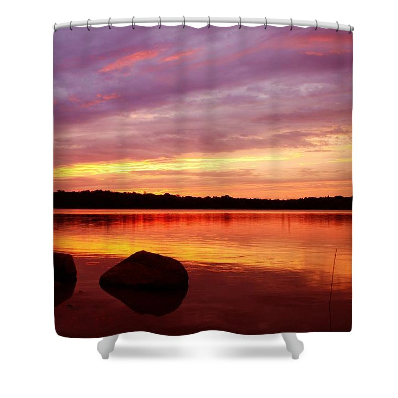Landscape Shower Curtain featuring the photograph Constant Stimulus by Mitch Cat