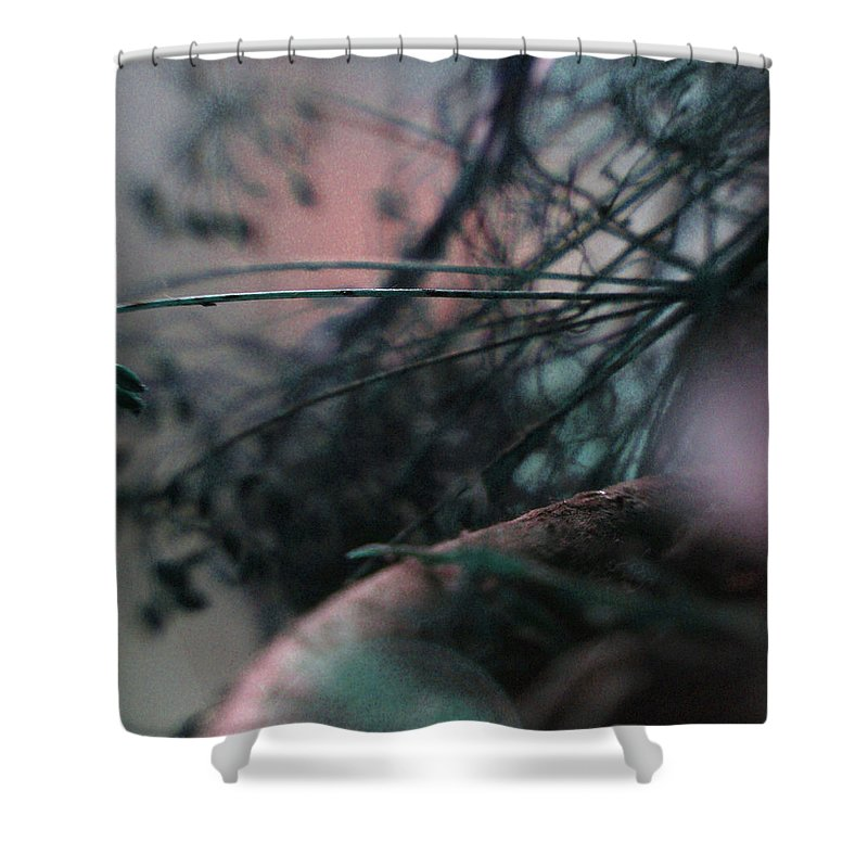 Flowers Shower Curtain featuring the photograph Cool Fusion... by Arthur Miller