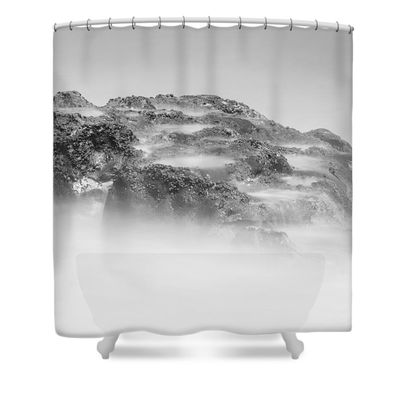 Coral Cove Shower Curtain featuring the photograph Coral Cove Park 0526 by Bob Neiman