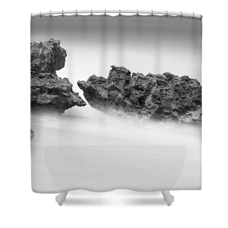Coral Cove Shower Curtain featuring the photograph Coral Cove Park 0529 by Bob Neiman
