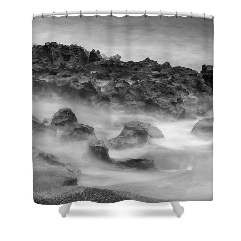 Coral Cove Shower Curtain featuring the photograph Coral Cove Park 0558 by Bob Neiman