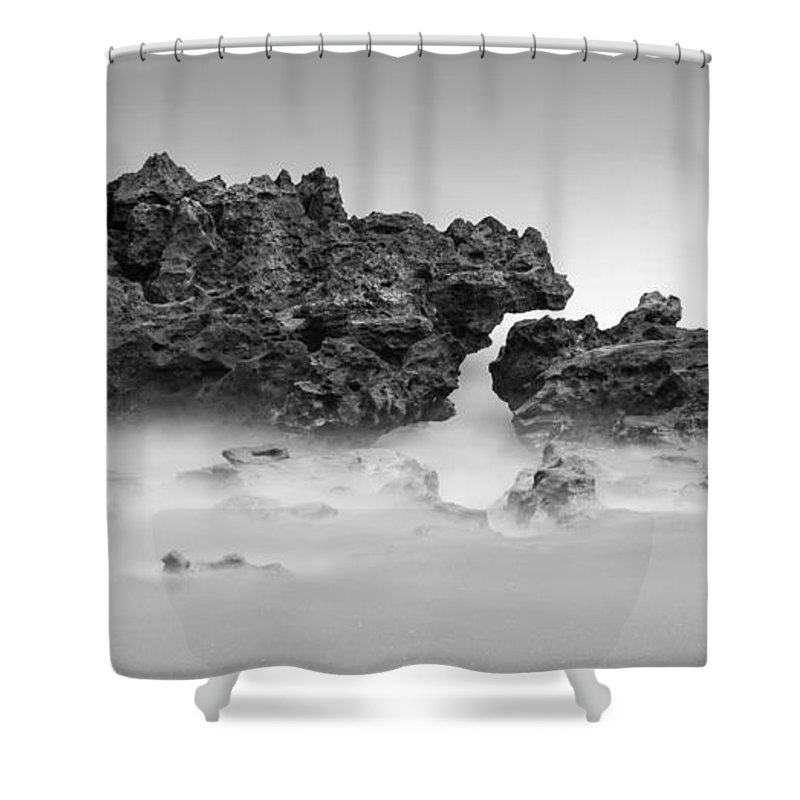 Coral Cove Shower Curtain featuring the photograph Coral Cove Park 0606 by Bob Neiman