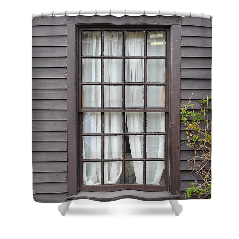 Window Shower Curtain featuring the photograph Country Window by Jost Houk