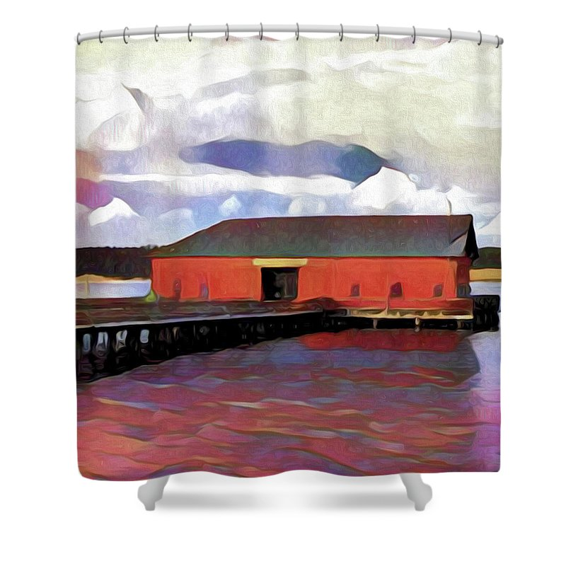 Whidbey Shower Curtains