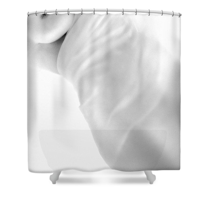 Body Shower Curtain featuring the photograph Covering The Body by Evgeniy Lankin